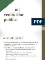Sistemul veniturilor publice