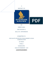 strategic positioning of singapore airlines