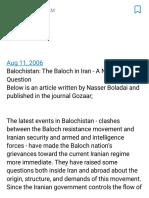 Inranian Balochistan.pdf