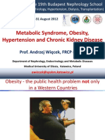 metabolic sdr and CKD