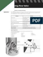 Rotary Metering Flow valve