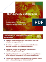 IEA - World Energy Outlook 2010