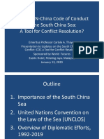 Thayer, The ASEAN-China Code of Conduct in the South China Sea