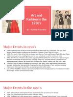 charlotte wakefield   student - heritagehs - 1950s presentation