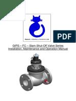 GIPS – FC – Slam Shut-Off Valve Series Installation, Maintenance and Operation Manual