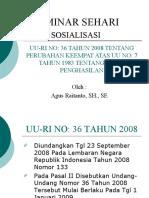 UU PPh NO.36 TAHUN 2008
