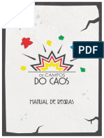 Os Campos do Caos - Regras