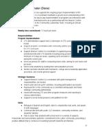 Buenos Vecinos Catalyst Job Description