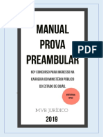 Manual Prova Preambular MPGO 2019