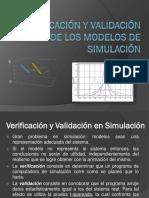Verificación y validación de modelos de simulación