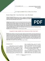 rosmaninho-incidência-Ecogeography of Lippia rotundifolia Cham. in Minas Gerais, Brazil