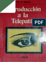 Introducción a la telepatía