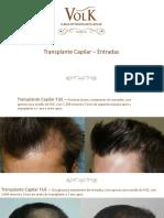 Transplante Capilar - Entradas