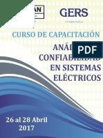 Análisis de Confiabilidad en Sistemas Eléctricos