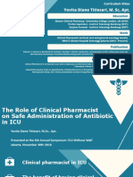 Yovita - The Role of Clinical Pharmacist on Safe Administration Antibiotic