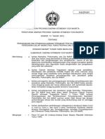 Perda DIY No. 13 Tahun 2010 ttg Pencegahan dan Penanggulangan terhadap Penyalahgunaan dan Peredaran Gelap Narkotika, Psikotropika dan Zat Adiktif