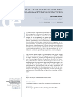 El uso didáctico y disciplinar de las tecnologías en la formación inicial de profesores