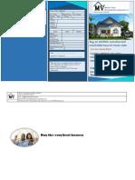 housing project brochure outside