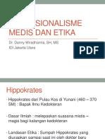 1_Profesionalisme Medis dan Etika