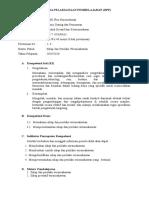 RPP  KD1 Sikap dan Perilaku Wiraushawan