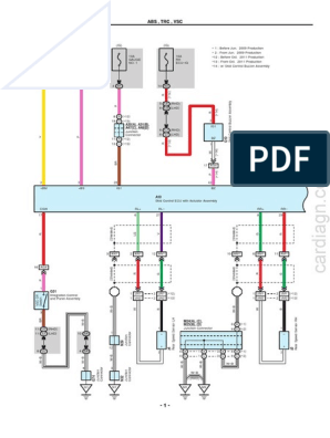 toyota alphard vellfire (em2441e) – system wiring diagram.pdf | motor  vehicle | components  scribd