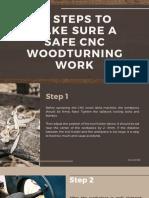 15 Steps to Make Sure a Safe CNC Woodturning Work