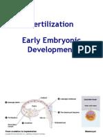 Zoology 7 - Fertilization, Early Devt