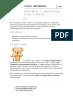 JUEGO DE PREGUNTAS Y RESPUESTAS CON LISTAS EN SCRATCH