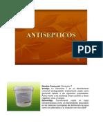 Antiséptico y Desinfectantes