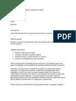 acuarios - investigación social mercados