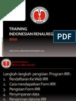 Training-IRR