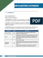 Competencias y actividades - U4