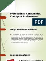 Clase 2. Protección al Consumidor. Conceptos Preliminares