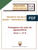 Revista do Blog da OCDS - Província São José - agosto-2012