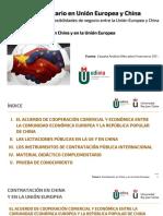 M.U. en Unión Europa y China