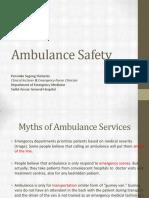 Ambulance Safety