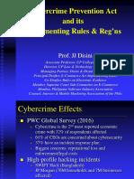 1 --- Prof. JJ DISINI --- Cybercrime Act and IRR