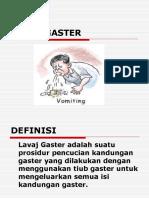 LAVAJ GASTER