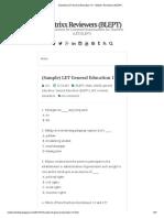(Sample) LET General Education 13 _ Mattrixx Reviewers (BLEPT)