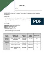 ramya Resume