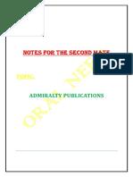 ADMIRALITY PUBLICATIIONS