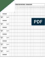 Daily temperature monitoring format