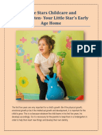 Little Stars Childcare and Kindergarten Your Little Star's Early Age Home