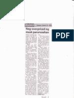 Bandera, Jan. 14, 2020, Nag-overpriced ng mask parurusahan.pdf