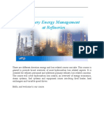01 - Introduction to Refinery Energy Management NOTE PAGES