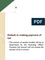 Penalities
