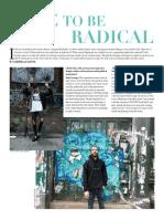 Dare to Be Radical | Sofia George Interview | Cliché Magazine