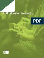 GAI Education Prospectus
