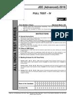 AITS-1718-FT-IV-JEEA-PAPER-2