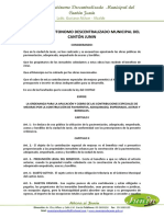 07.- Ordenanza Para El Cobro de Contribuciones Especiales...